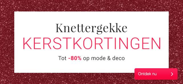 TOT -80% korting bij LESARA op mode en deco