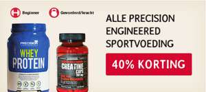 40% korting op Precision Engineered sportvoeding @ de Tuinen (Holland&Barrett) + gratis sportreep