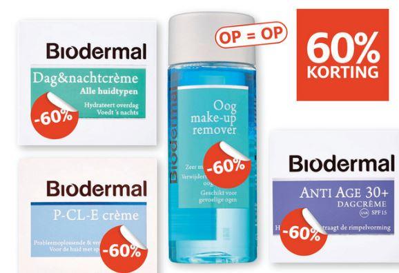 Biodermal 60% korting @ Etos