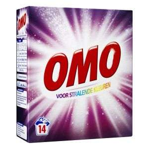 OMO wasmiddel voor 2 euro bij drogisterijplein 3 pakken voor 5 euro