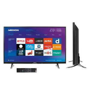"43"" UHD Led-TV MEDION® LIFE® MD 31197 voor €379 @ Aldi"