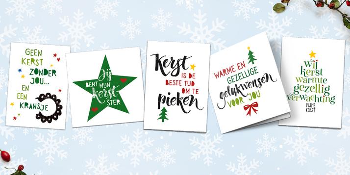 Gratis kerstkaart, rest met 10% korting bij kaartje2go @ Margriet