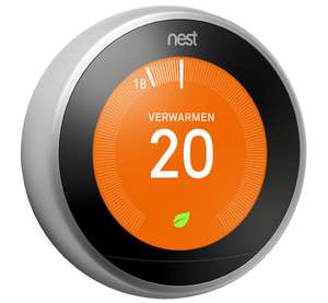 Nest learning thermostat (3e generatie) voor €199 @ Coolblue