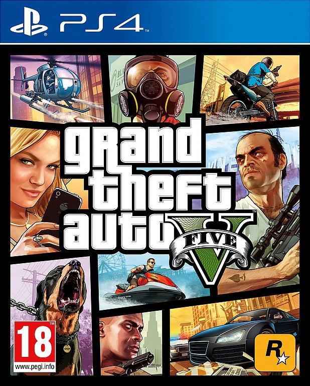 GTA V (PS4) voor €46,95 door kortingscode @ Wehkamp