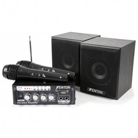 Fenton AV380BT karaokeset van 89 voor 49 bij bax