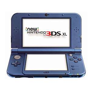 New Nintendo 3DS XL (metallic blauw) voor €166,77 @ Amazon.de