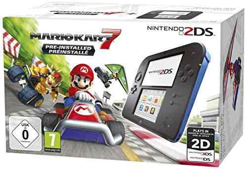 Nintendo 2ds met Mario Kart 7 incl verzending via Amazon.de (met welkom code)