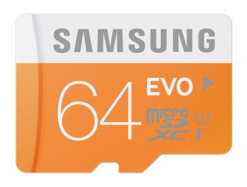 64GB Samsung EVO Micro SDXC Class 10 geheugenkaartje voor €25,67 @ Amazon.com [Black Friday]