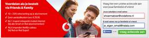 Gratis een Vodafone Friends and Family code