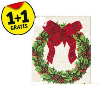 [UPDATE] tot 50% korting op de kerstartikelen, kerstkaarten 1+1 gratis  @ Kruidvat