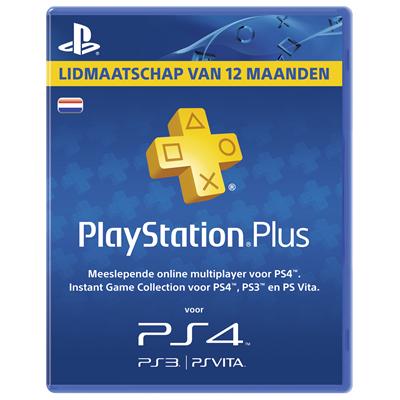 PlayStation Plus Voucher 365 Dagen door kortingscode €42,49 @ Mycom