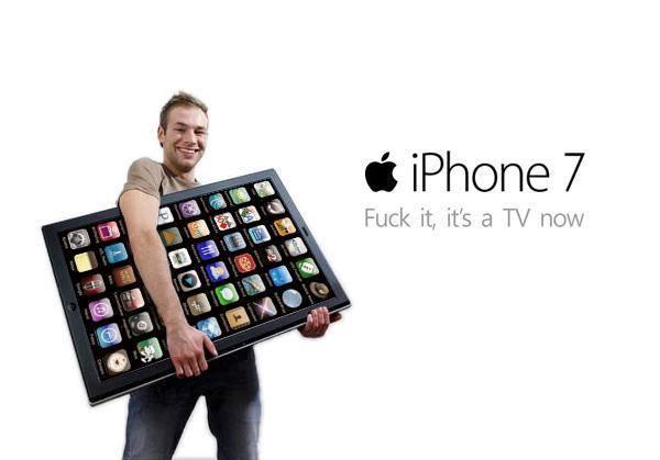 iPhone 7 Plus 32GB - €38 p.m. (+€59) [T-mobile] met addertje onder de kerstboom
