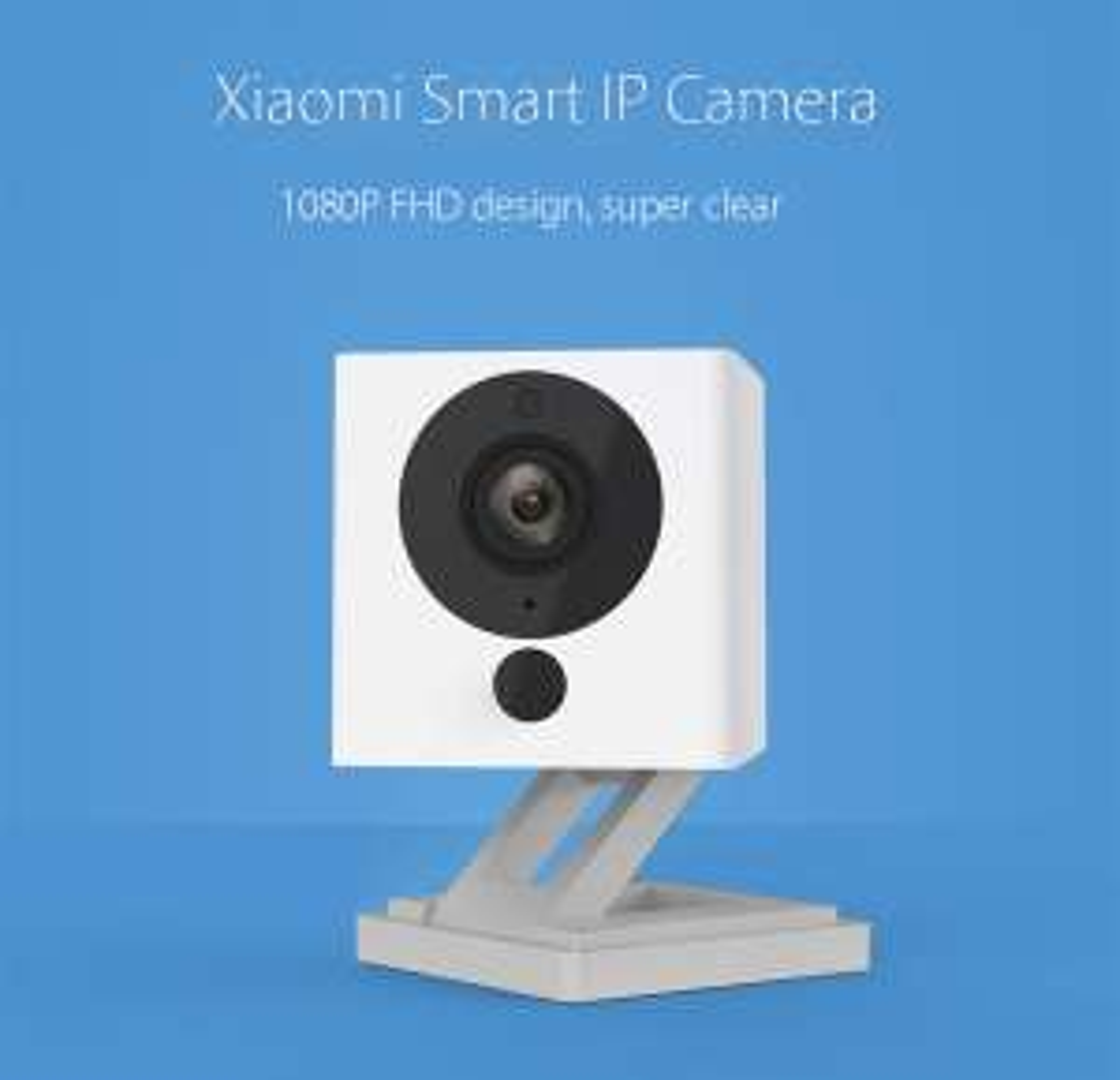 Xiaomi Smart 1080P WiFi IP Camera voor €21,73 na code  @ Gearbest
