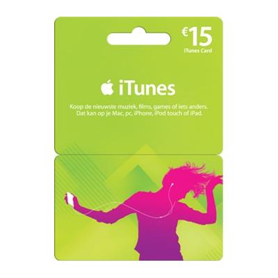 30 euro Itunes giftcard door kortingscode voor 22,50 euro (-25%) @ mycom