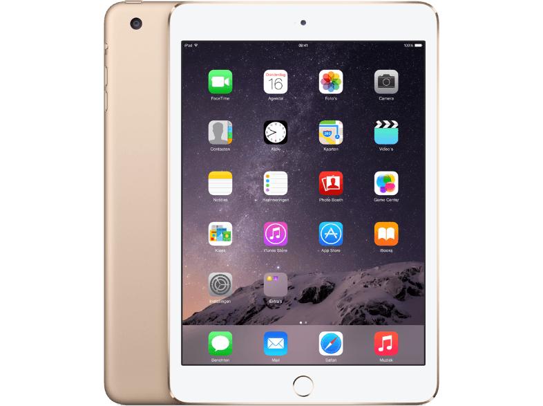 iPad mini 3 128GB Gold voor slechts €299