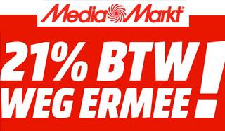 BTW-Actie 2017: 26 t/m 29 januari @Media Markt