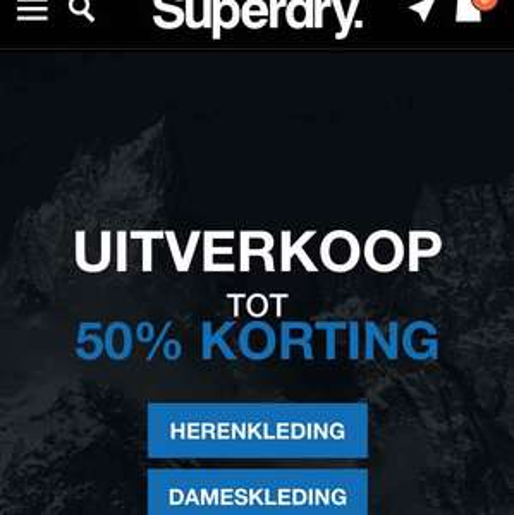 Uitverkoop tot 50% @ Superdry