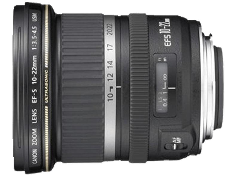 CANON EF–S 10–22mm f/3.5–4.5 USM Objectief voor €357 @ Mediamarkt