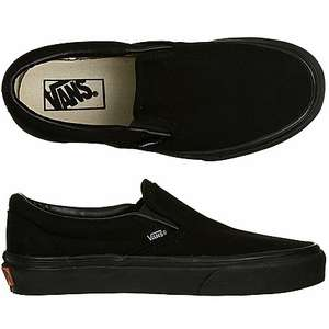 Vans Classic Slip-On (zwart en wit) voor €14,99 @ Men at Work
