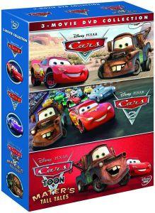 Cars 1, 2 & Cars Toon: Maters Tall Tales (DVD) voor €8,39 @ Zavvi