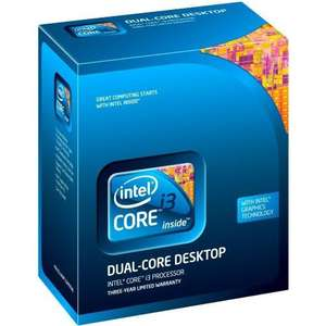 Intel Core i3 550 Boxed voor €42,40 @ Afuture