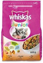 Prijsfout?  Whiskas kattenvoer 950 gram, 5 zakken voor 4,99 op Bol.com