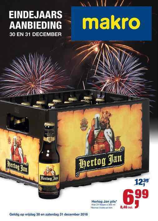 Krat Hertog Jan voor €8,46 bij Makro