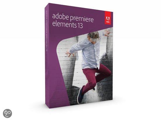 Adobe Premiere Elements 13 - Engels / Windows/ Mac/ DVD voor € 54,99 @ Bol.com