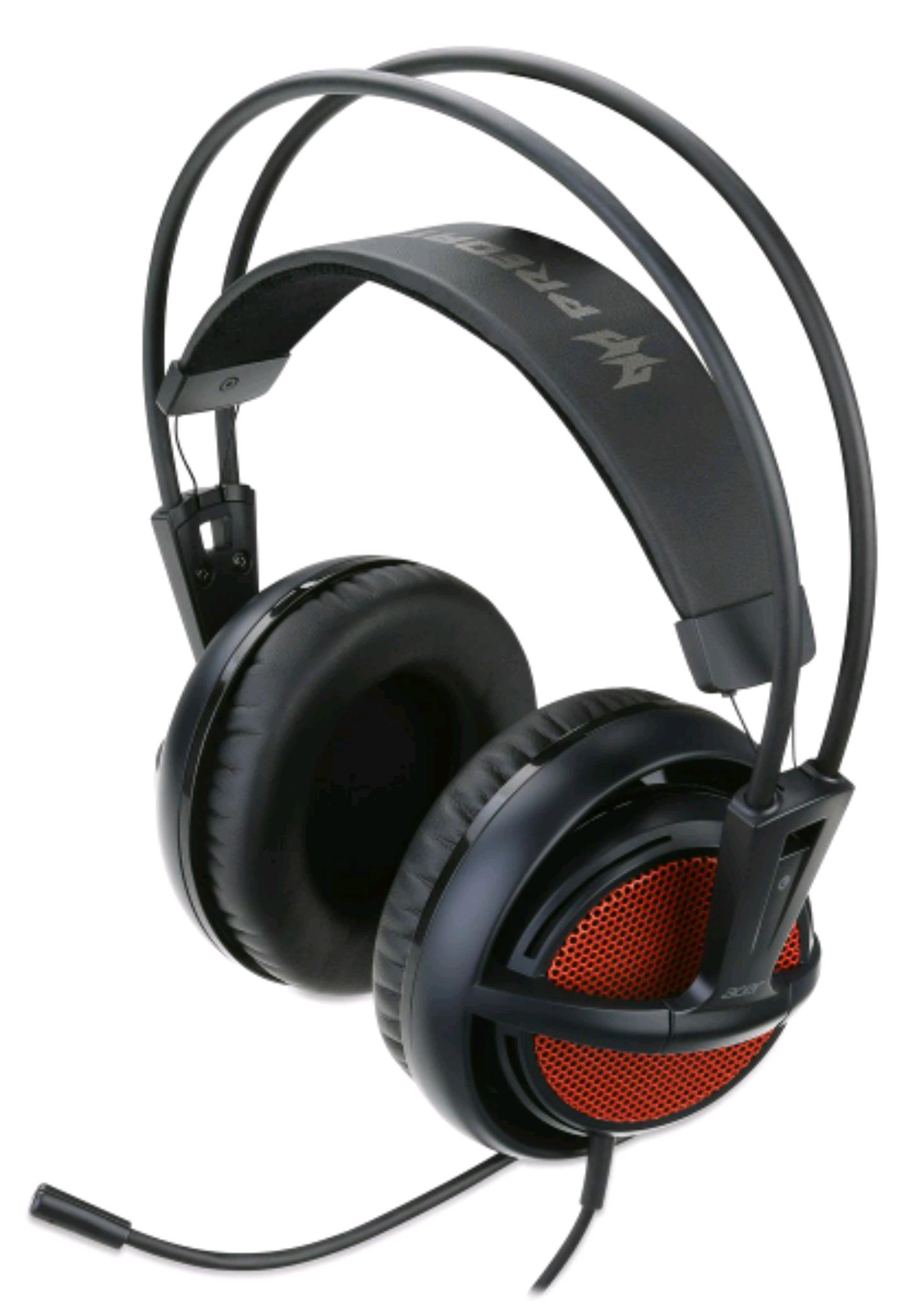 Acer predator gaming headset black red voor €39,99 @ Bol.com / Mediamarkt
