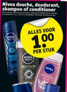 Heel veel Nivea producten 1 euro p.s! @Kruidvat