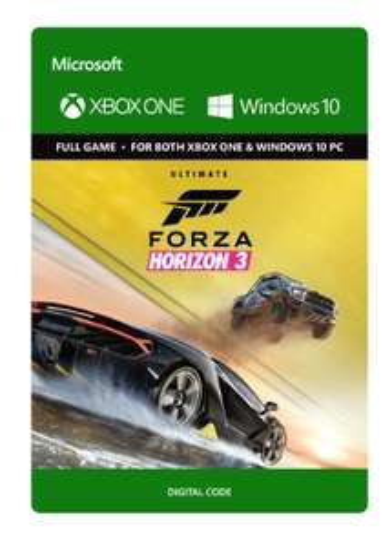 Forza Horizon 3: Ultimate Edition (Xbox One én PC) (download code) voor €35,33 @ Amazon.co.uk