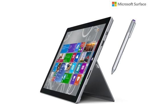 Microsoft Surface Pro 3 i7/8GB/512GB voor €999 @ Ibood