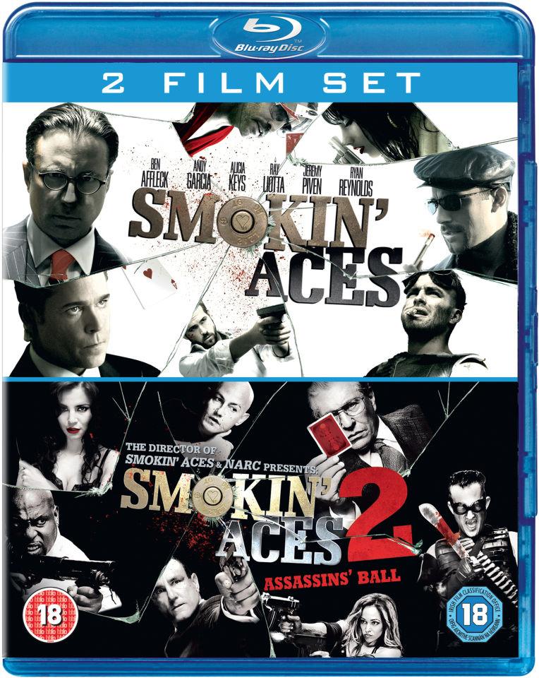 Smokin' Aces + Smokin' Aces 2: Assassin's Ball (Blu-ray) voor € 8,75 @ Zavvi