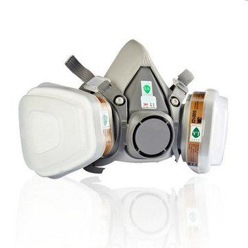 M3 6200 N95 Double Gas Masker
