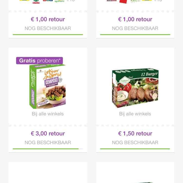 Reclamefolder app - gratis Lekker&anders cevapcici