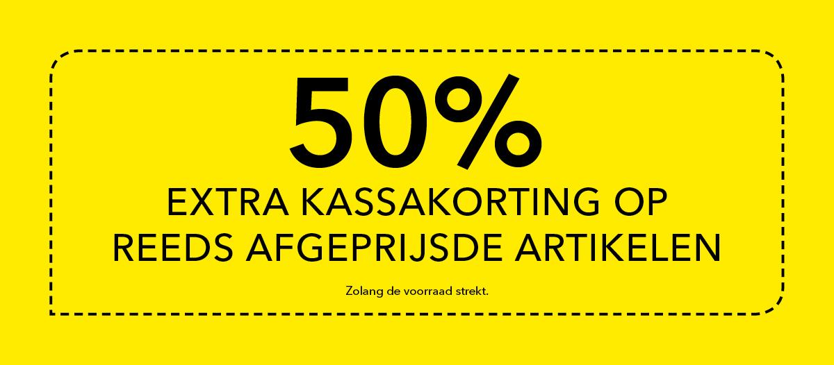 50% extra korting op sale @ Takko (winkels)