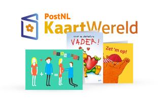 Gratis kaart sturen met postzegel t.w.v. €2,49 door kortingscode @ Kaartwereld