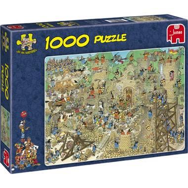 Jan van Haasteren 'Middeleeuwen' puzzel 1000 stukjes nu €5 @ Blokker