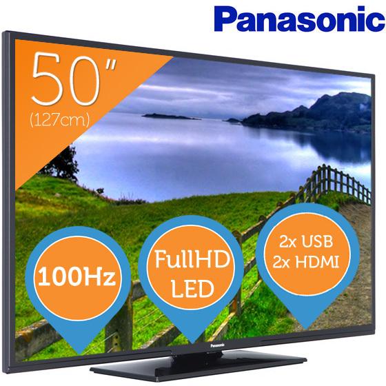 Panasonic TX-50A300E 50 inch Full HD LED TV voor €429,- @ Bol.com en Foka