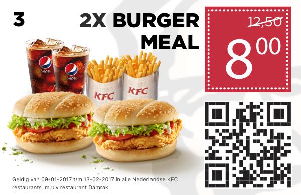 Kortingscodes voor KFC (mobiel)