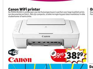 Canon Pixma MG3051 WiFi Printer @ Kruidvat