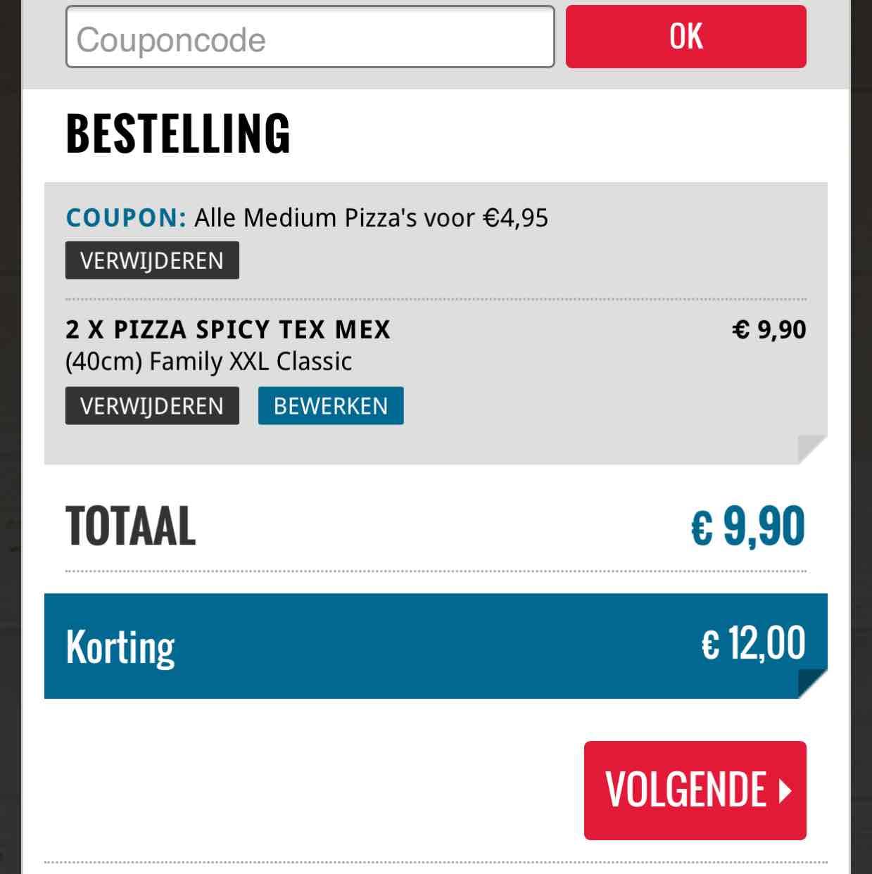 Dominos spicy tex mex pizza