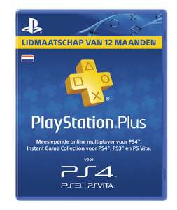 [UPDATE ] PlayStation Plus Voucher 365 Dagen voor €39,99 @ Media Markt