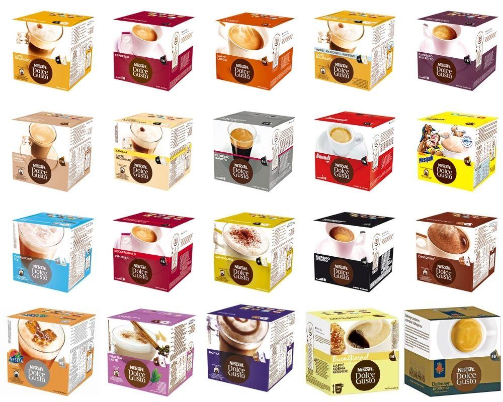 Dolce Gusto cups voor €3,33 @ Kaufland (Duitsland) (vanaf donderdag)