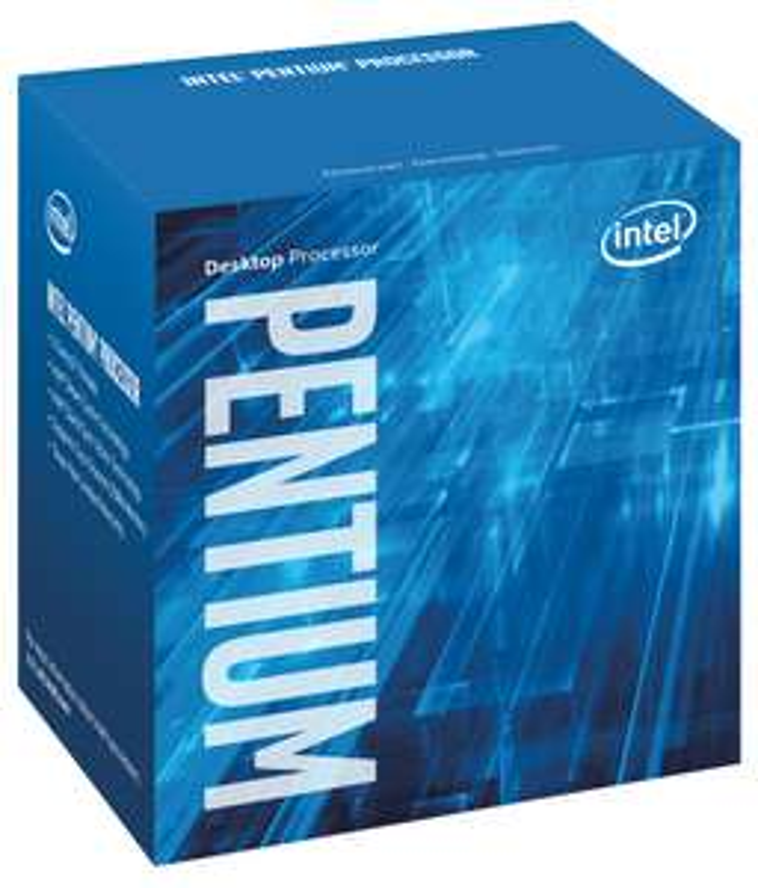 Intel Pentium G4560, Dual Core @ 3,5GHz