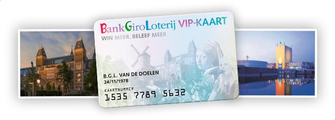 Gratis Bankgiro Loterij VIP-kaart + 1 maand gratis meespelen