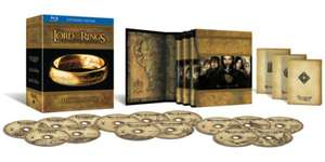 Lord Of The Rings Trilogy: Extended Limited Edition (Blu-ray) voor €17,08 @ Zavvi