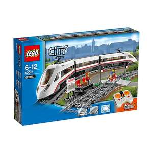 Lego city hogesnelheidstrein dagaanbieding €69,-
