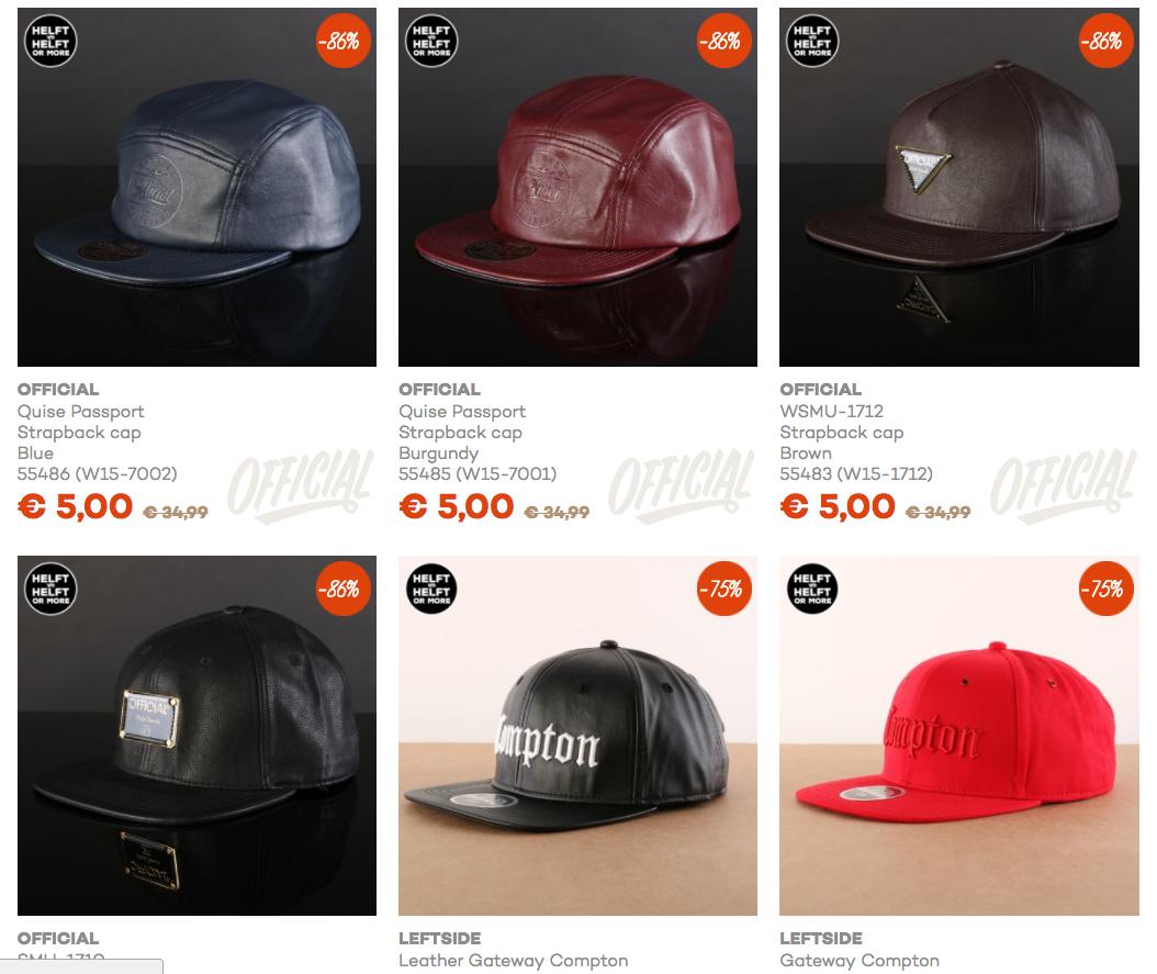 [UPDATE] strapback-petten, mutsen en hoeden vanaf €2,50 @ Go-Britain.nl
