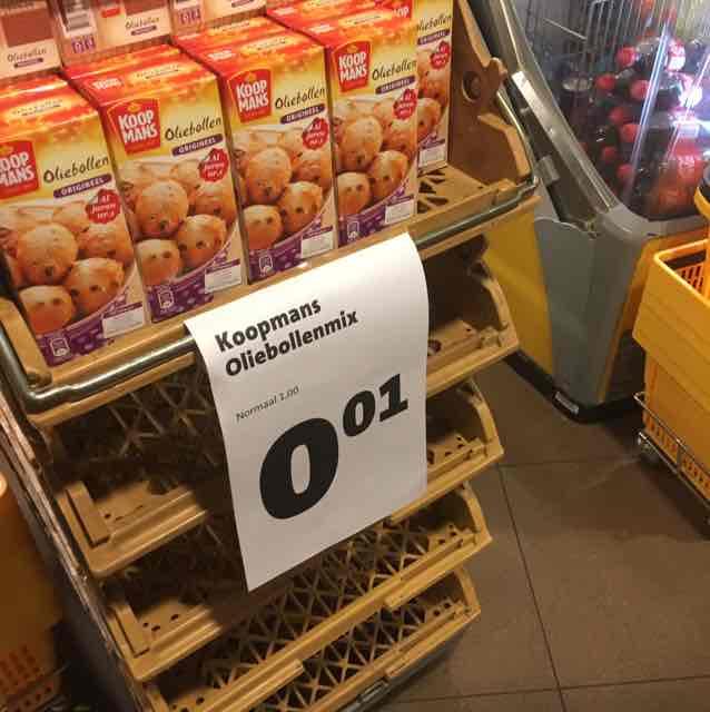 Olliebollen mix voor €0,01 @ Jumbo (lokaal)